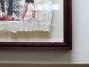 Оформление папируса между двух стекол