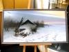 Оформление живописи в багет