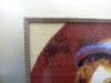 оформление вышивки с паспарту и деревянным слипом
