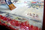 Печать на холсте и натяжка на подрамник за 3 часа